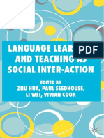 Language Learning and Teaching as Social Inter-action