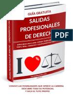 Salidas Profesionales de Derecho
