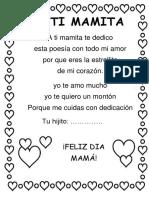 A Ti Mamita-poesia