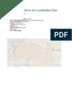 Archivo Histórico de Localidades Geo Estadísticas