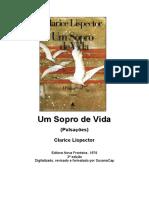 Clarice Lispector - Um Sopro de Vida Pulsacoes
