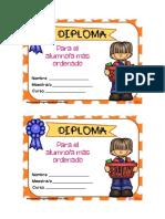 Diploma Al Mas Ordenado