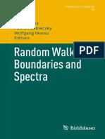 Random Walks Boundaries and Spectra