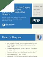 Presentation - UCCC Residential Street
