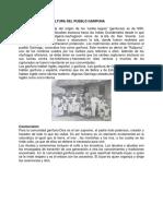 Elementos de La Cultura Del Pueblo Garifuna