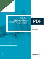 MSSS_Unité de Retraitement Des Dispositifs Médicaux(11-610-03W)