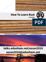 How to Learn Rust
