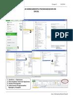 Habilitar Programador en Excel