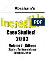 RDuris - Microsoft Word - Incredible Case Studies - Volume 2doc