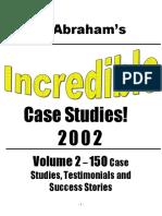 RDuris - Microsoft Word - Incredible Case Studies - Volume 2doc