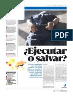 Diario La Cuarta de Santiago, Chile 10-02-2018 La Condena Que Divide a Los Chilenos..