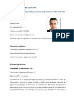 CV Michael Dévora