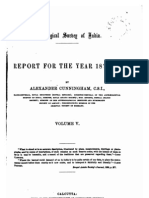 Archiological Report for the Year 1872 73