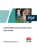 Huawei WS322 User Guide