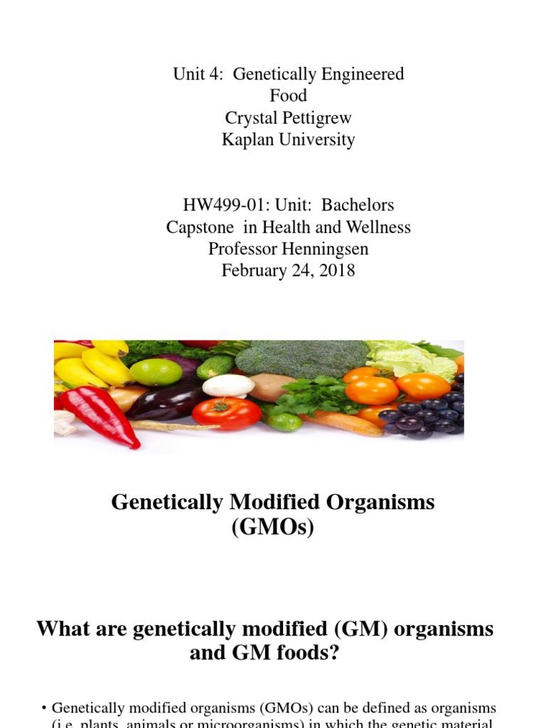 c pettgrew hw499 unt 4 pp | genetic engineering | genetically
