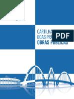 Cartilha de Boas Práticas de Obras Públicas - TCDF