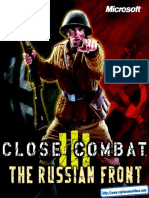 Close Combat III - The Russian Front - Manual - PC