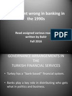 Overview of Problems in Banking Sector in 1980 and 1990 New