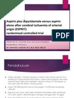 Aspirin plus dipyridamole versus aspirin alone after cerebral.pptx