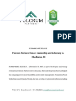 Fulcrum Partners Honors Leadership and Advocacy in Charleston SC