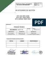 In-DT-718 Instructivo Para Tratamiento de Las No Conformidades V1