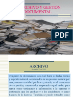Capacitacion Gestion Documental y Archivo