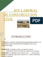Régimen Laboral de Construcción Civil 1