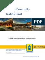 2 Plan de Desarrollo Institucional 03-10-2016