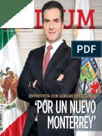 """26-02-18 Entrevista con Adrián de la Garza """"Por un nuevo Monterrey"""""""