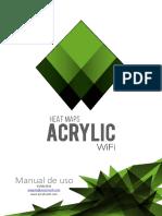 Acrylic WiFi Heatmaps v3 Manual de Usuario 2016
