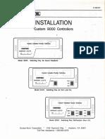 Unitrol Omega 9000 Installation Instructions