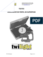 Medidor Perfil de Superficie TX TX
