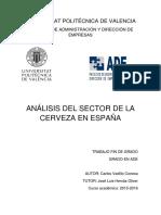 VADILLO - Análisis Del Sector de La Cerveza en España