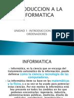 Unidad1. Introduccion a La Informatica 2017
