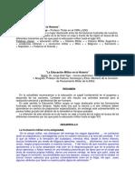 La Educación Militar en La Historia - Jorge Ariel Vigo