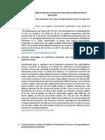 Pretratamientos para la producción de bioetanol