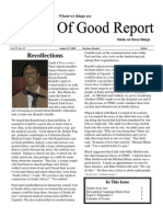 August 15, 2008 Community Church of Mill Valley Newsletter
