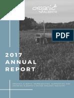 2017 Organic Alberta Annual Report