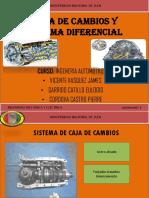 Caja y Diferencial