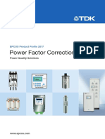 Tdk Power Factor Correction Pfc-katalog-pp