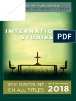 International Studies 2018 Catalog