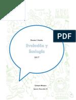 Dossier I 2017 (Evolución y Ecología)