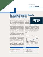 Productividad en España (Crecimiento y Crisis)