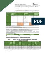 Diagnostico Institucional e Identificación de Riesgos y Estrategias de Mitigación Social APEC
