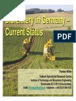 Biorefinerie in Germany