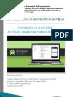 INSTALACION DE ANDROID STUDIO + SDK