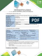 Guía de Actividades y Rubrica Fase 2
