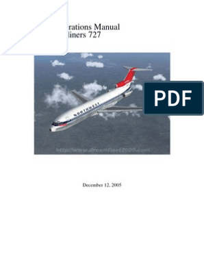 727 Manual | Internet Forum | Airplane