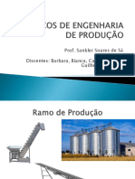 Tópicos de Engenharia de Produção