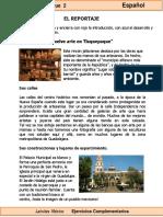 6to Grado - Español - El Reportaje